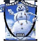 Happy Holidays'14 Award