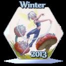 Winter 2013 Award